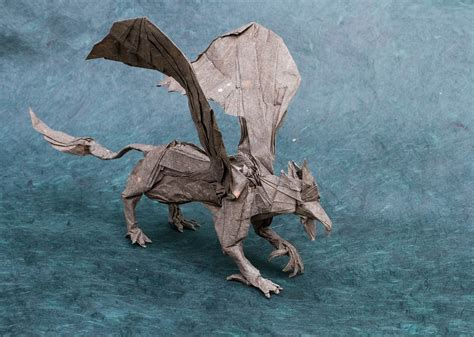 origami griffin tutorial this week in origami halloween 2015 edition