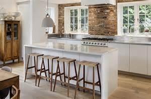 Kitchen Island Free Standing cucina con isola con top in pietra e isola centrale su misura