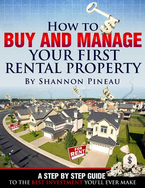 how to buy and rent houses book how to buy and manage your first rental property