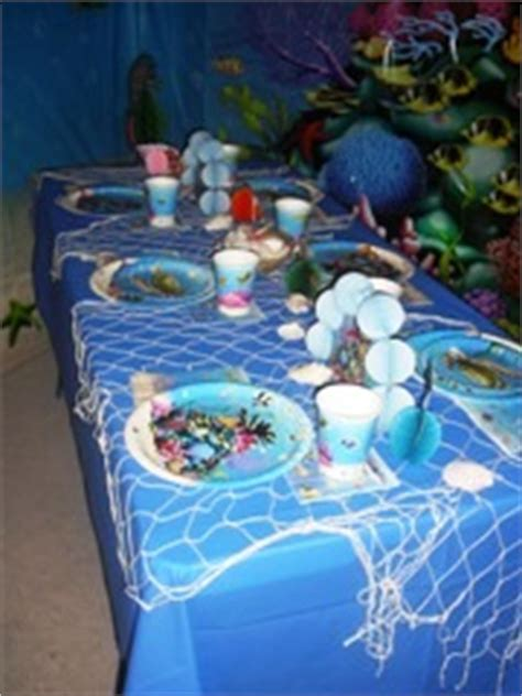 The Sea Table Decorations by How To Decorate For An The Sea