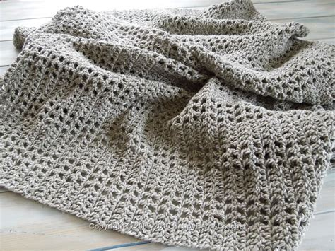 pattern weights co uk mesh filet afghan blanket happyberry