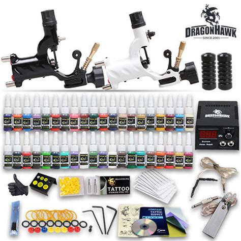 tattoo kit reviews uk professional complete tattoo kit 2 top rotary machine gun