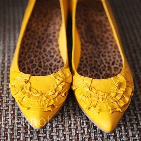 yellow flat shoes for wedding can anyone identify these yellow flats weddingbee