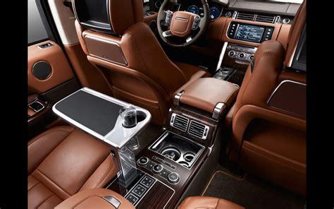 2014 Range Rover Interior by 2014 Land Rover Range Rover Autobiography Black Interior