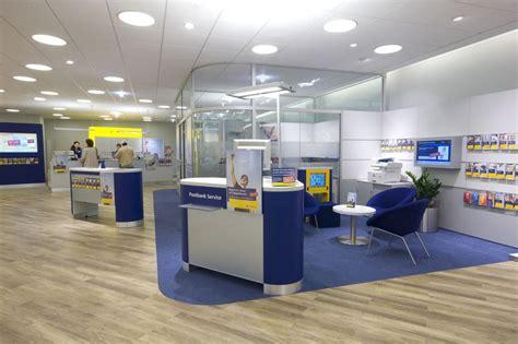 post bank postbankfiliale im wandel dreiform