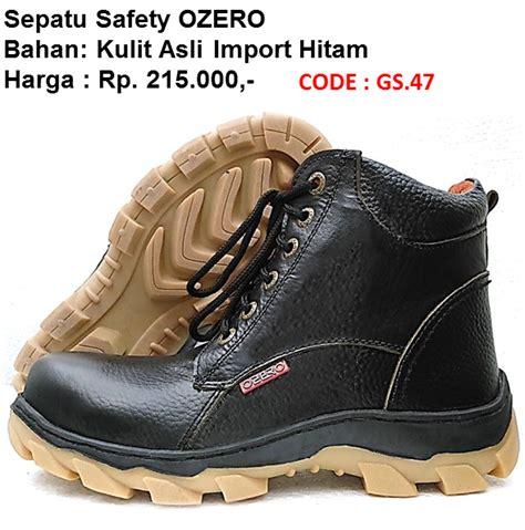 Sepatu Safety Ozero jual sepatu pdh pdl tni polri abri security satpam