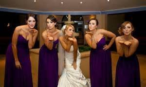 real bridesmaids in our stunning and elegant bridesmaid
