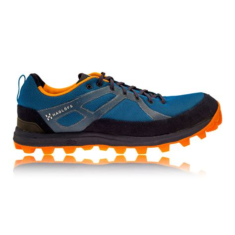 walking sports shoes haglofs gram pulse mens blue black sneakers walking sports