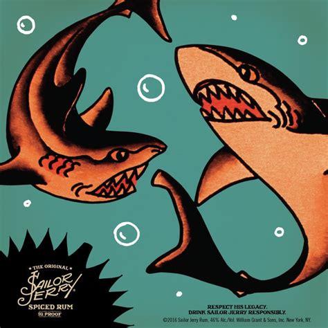 sailor jerry shark tattoo sailor jerry quaker city mercantile
