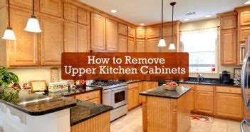 How To Remove A Kitchen Cabinet Diy Fails