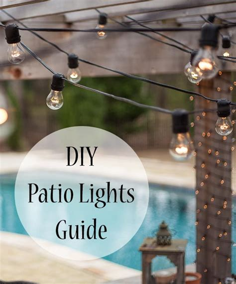 17 best ideas about patio string lights on