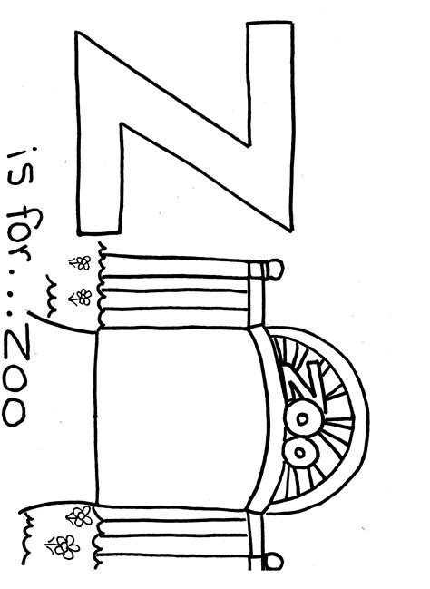 printable letter z coloring pages free printable alphabet coloring page letter z