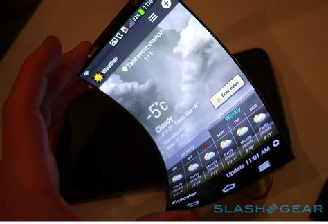 lg curved phone lg says curved phones will be 40 of the smartphone market by 2018