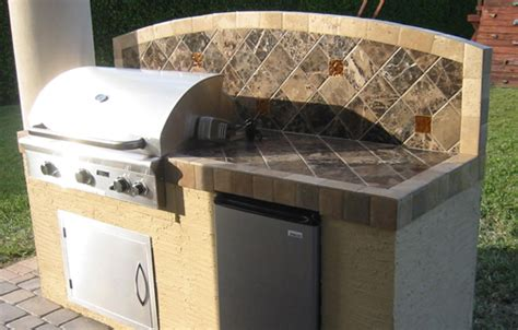 premade outdoor kitchen built in bbq grills by american outdoor grill for outdoor