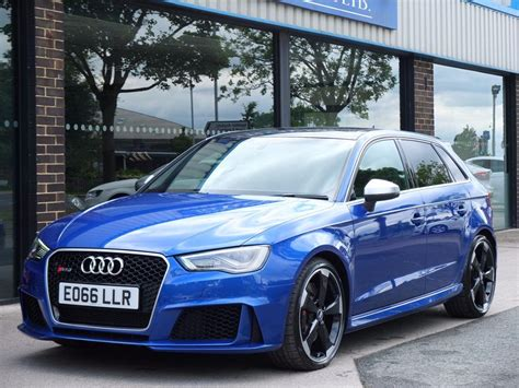used audi rs used 2016 audi rs3 2 5 tfsi rs 3 quattro s tronic for sale