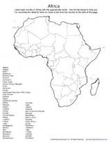 Africa Fill In The Blank Map Quiz by Fill Blank Africa Map Quiz