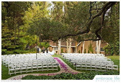garden wedding reception venues los angeles calamigos ranch best outdoor wedding locations los angeles california wedding venues