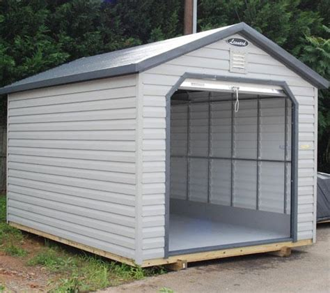 Aluminum Sheds by Metal Storage Sheds Metal Buildings Leonard Buildings