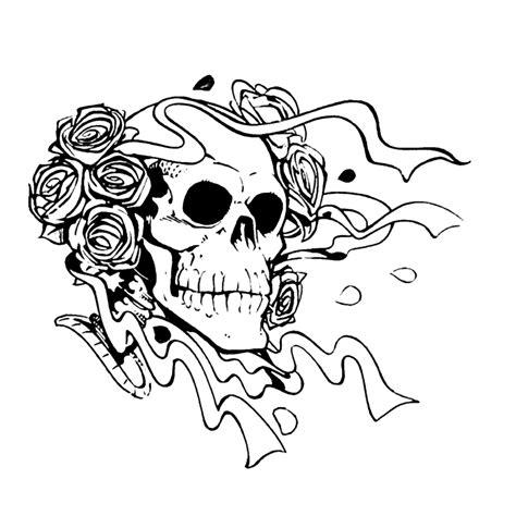 doodskop tekenen leuk voor kids een schedel