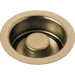 kitchen sink stopper delta 4 1 2 in kitchen sink disposal and flange stopper