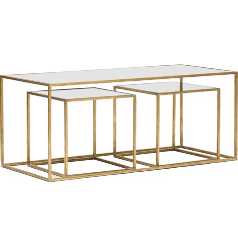 gold mirrored end table gold mirrored coffee table interior designs