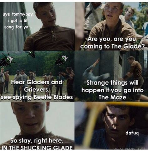 beetle blade maze runner party pinterest the o jays are you are you coming to the glade hear gladers and