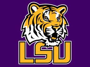 what are lsu colors lsu logo collegefootballtalk