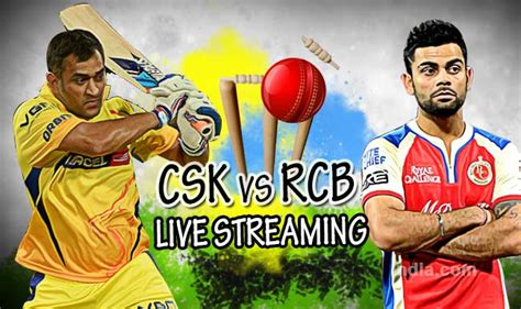 Sepatu Cross Rcb chennai vs royal challengers bangalore live
