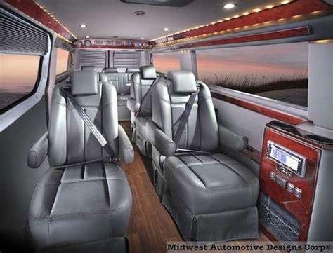 Mercedes Sprinter Custom Interior by Interiors And Sprinter On
