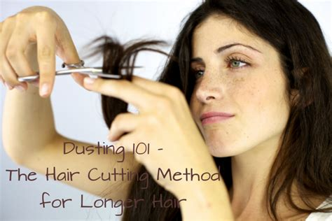different ways to cut the ends of your hair photos of different ways to cut end of hair dusting 101