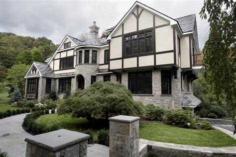 french tudor style home traditional exterior newark french tudor inspired exterior traditional exterior