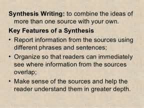 How To Write A Synthesis Essay by How To Write A Synthesis Essay
