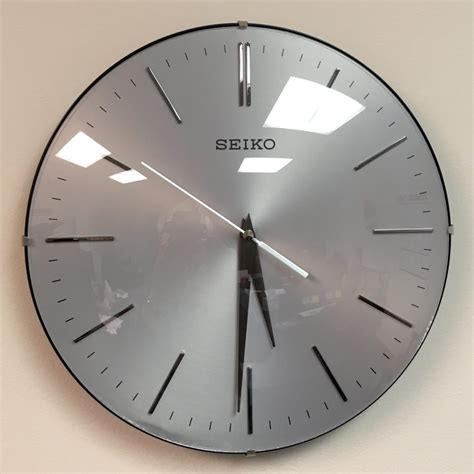 silent wall clocks seiko quiet wall clocks