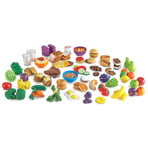 New Products To Play With by New Sprouts 174 Classroom Play Food Set Learning Resources 174