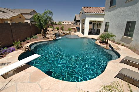 backyard pool design with mesmerizing effect for your home modern pool designs idolza