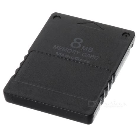 Memory Card Ps2 8mb 8mb memory card for ps2 black free shipping dealextreme