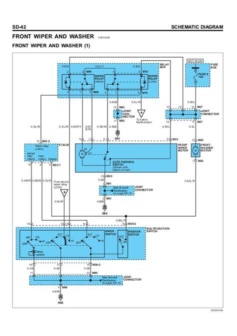 hyundai getz washer wiring diagram free