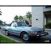 1977 Mercedes Benz SL Class 450 Roadster In Light Blue