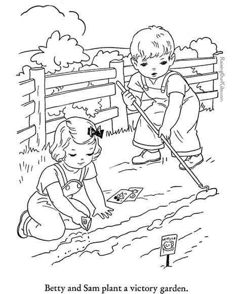 summer garden coloring page 79 best summer fun summercloring images on pinterest