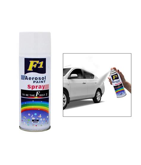 car spray paint price f1 car touchup spray paint 450ml white ford