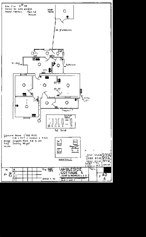 sle cottage electrical drawing image
