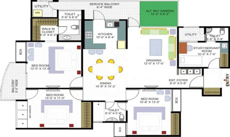 House Floor Plan Maker House Floor Plan Creator Modern House