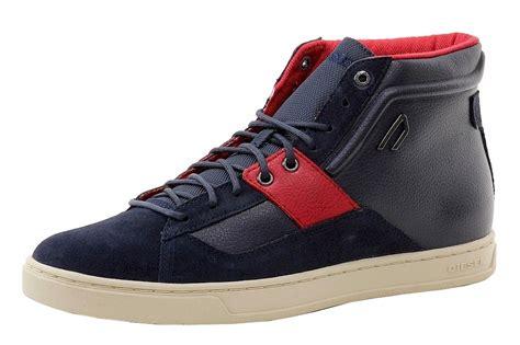 s diesel sneakers diesel s e prime mid high top sneakers shoes ebay