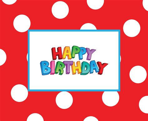 Free Giveaways For Birthdays - free templates for birthday cards resume builder