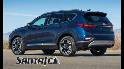 2019 Hyundai Santa Fe Interior by 2019 Hyundai Santa Fe Interior Exterior And Drive