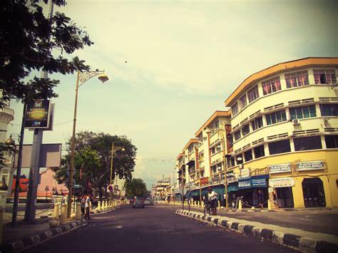 george town street view kapitan keling mosque street
