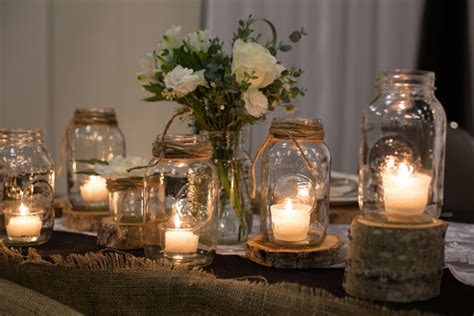 fall table decorations with jars 5 things we from this fall wedding kate aspen