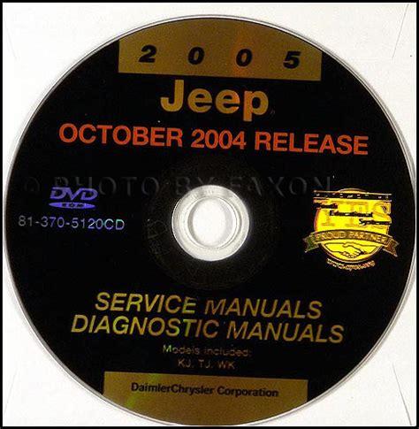 2005 jeep wrangler repair shop manual cd rom
