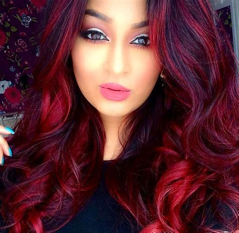 hairstyles and colours to suit me 25 best ideas about bright red highlights on pinterest