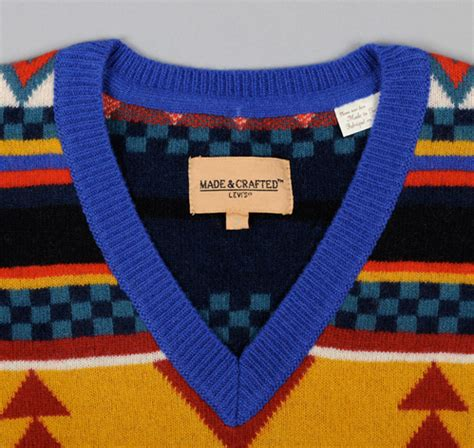 aztec pattern knit sweater aztec pattern sweater multicolor hickoree s